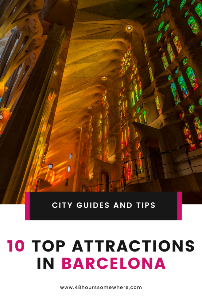Top Attractions in Barcelona