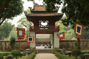 Constellation of Literature pavilion - Temple of Literature Hanoi - Things to do in Hanoi