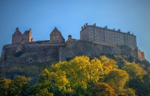 Edinburgh Castle - Visit to Edinburgh