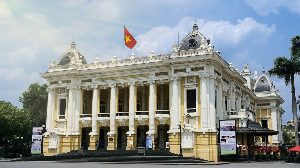 Hanoi Opera House - Attractions in Hanoi