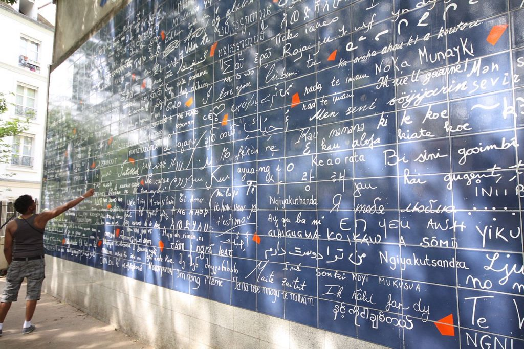 mur des je t'aime montmartre - Things to do in Montmartre