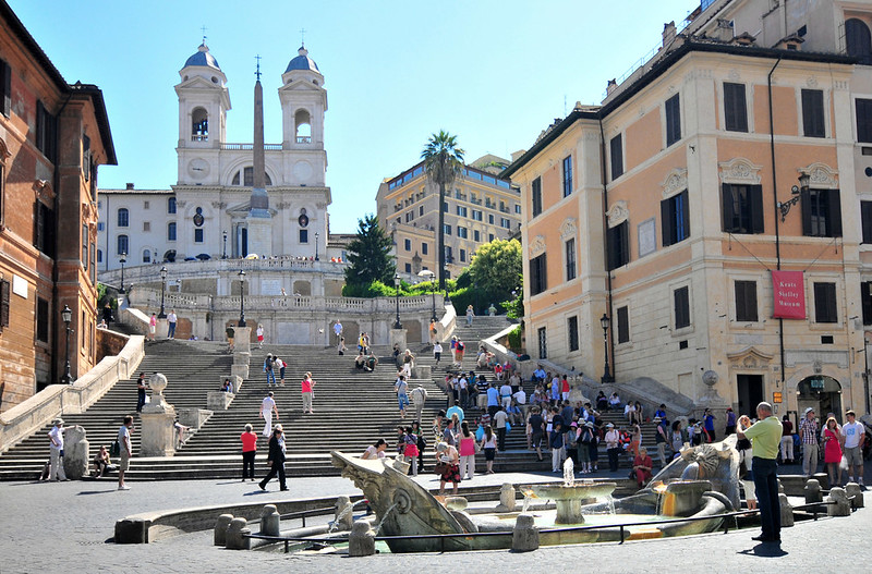 Spanish Steps - 48 Hours in Rome
