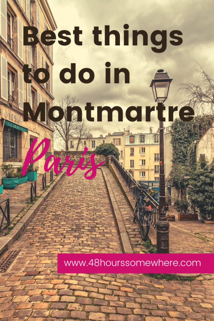 Things to do in Monmartre