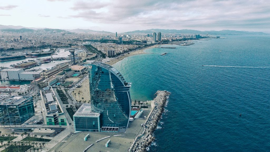 W Hotel on Barceloneta Beach - Top attractions in Barcelona