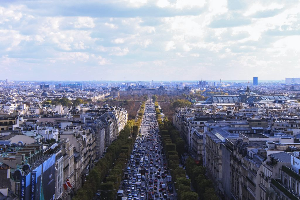Champs Elysees - Where to Stay in Paris