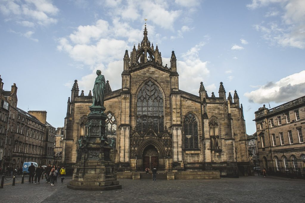 Saint Giles - Visit to Edinburgh