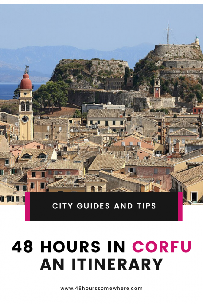 The cosmopolitan town of Corfu is a stunning destination that is perfect for a short stay. Although 48 hours in Corfu Town may seem a short time, you can still get the best the town and surrounding area has to offer. Luckily, we have the perfect guide to help you visit sites in north and central Corfu that are accessible by car or motorbike.