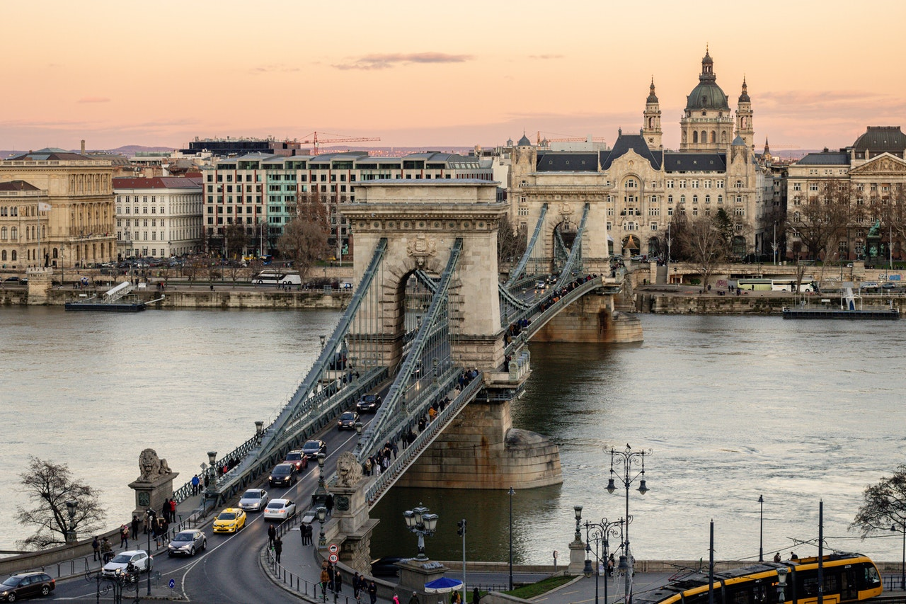 Chain Bridge - Where to Stay in Budapest