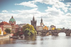Charles Bridge & Vltava River - 48 Hours in Prague