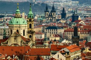 Prague Skyline - Where to Stay in Prague